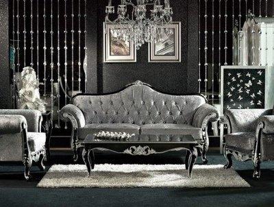 【大熊傢俱】 羅曼諾 908 新古典沙發  布沙發 沙發組椅 木製沙發 歐式沙發 數千坪展示場
