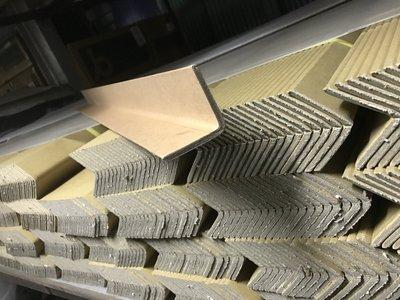 一把20支 防撞L形護角 直角 保護角紙 多功能包裝材料  V形紙護角  紙箱支撐  搬運棧板纖維帶綑綁帶專用 瓦楞紙箱