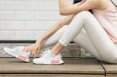 Adidas Nmd R1 White Rose BY9952 全白 桃粉 玫瑰 粉色 白粉nmd