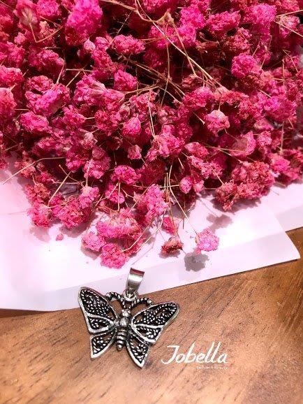 ✽JoBella 日本空運 日本代購 日貨✽  925銀 簍空造型蝴蝶吊墜 現貨