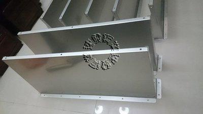 速發~窗戶不鏽鋼遮雨板~(正白鐵304#)~簡單自行DIY晴雨棚 / 遮雨棚 冷氣 專用 窗型雨遮