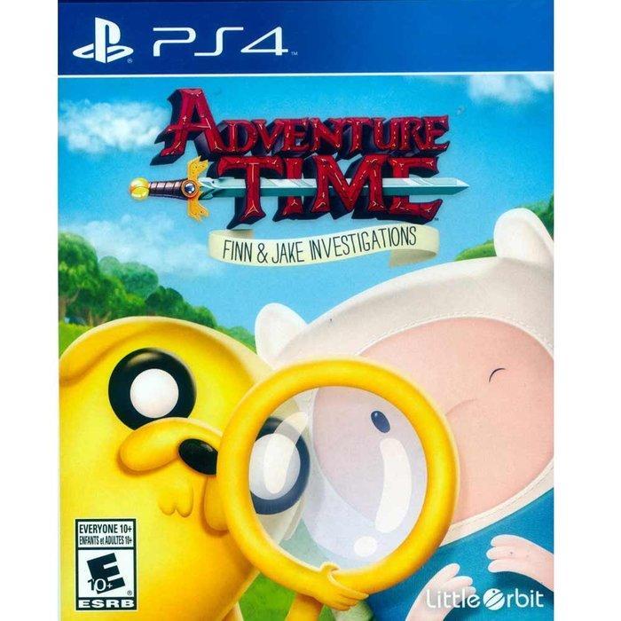 (現貨二手) PS4 探險活寶:阿寶與老皮的史詩冒險 英文美版 Adventure Tim