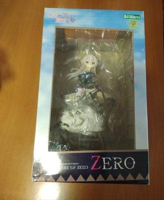全新 壽屋 從零開始的魔法書 zero 1/8 pvc figure