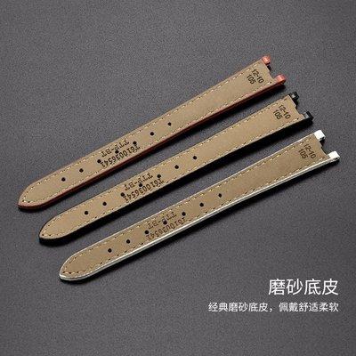手錶配件 rend弗拉明戈系列T094210A女表帶 12mm 黑色-銀色扣 12-10mm