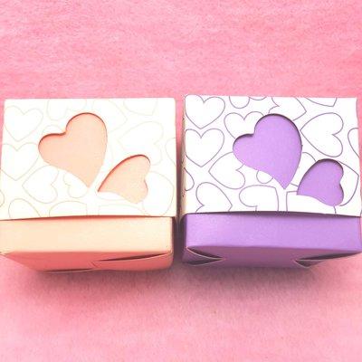 浪漫愛心喜糖盒