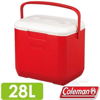 RV城市【美國 Coleman】EXCURSION 美利紅冰箱 28L.高效能行動保冷保冰筒.冰桶_CM-27862