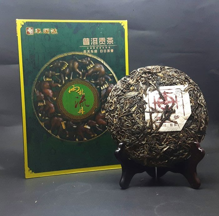 [茶太初] 2012 車順號 雨林流丹 易武正山 200克 生餅