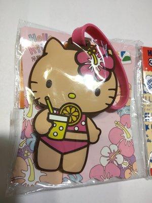 (全新~情人節生日禮物)Hello Kitty 立體 3D 夏日經典/大頭粉紅愛戀 造型悠遊卡(另40週年愛心人型)