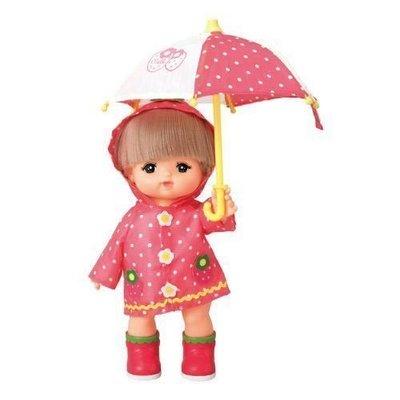 草莓雨具組 【美樂世界】 小美樂 不附娃娃 扮家家酒 生日禮物 PL51217 小美樂配件 娃娃衣服 下雨