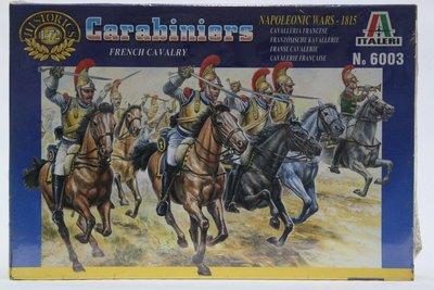 【統一】ITALERI《拿破崙戰爭 法國騎兵French Cavalry Carabiniers》1:72 # 6003