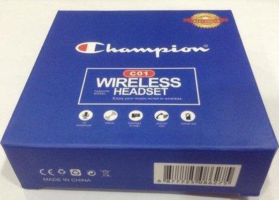 全新Champion 耳機