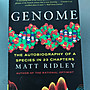 Genome - The autobiography of a species in 23 chapters. 基因組