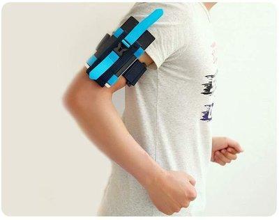 TwinS戶外休閒跑步健身手機手臂包【推薦熱銷】顏色隨機出貨