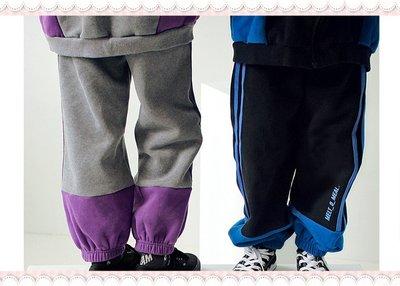 。~ 寶貝可愛 ~。韓國精選peach&cream休閒時尚,block jogger休閒長褲。2019冬現貨出清