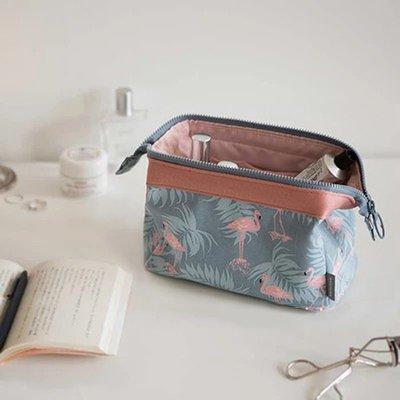 乾一網紅化妝包ins風超火韓國小號便攜女袋手拿簡約隨身化妝品收納盒