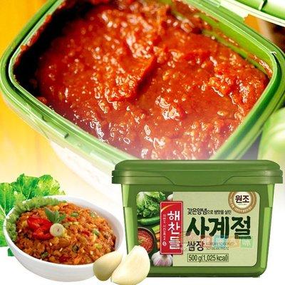 韓國 CJ 菜醬 豆瓣醬 拌飯醬 生菜沾醬500g[KO8801007052854] 健康本味