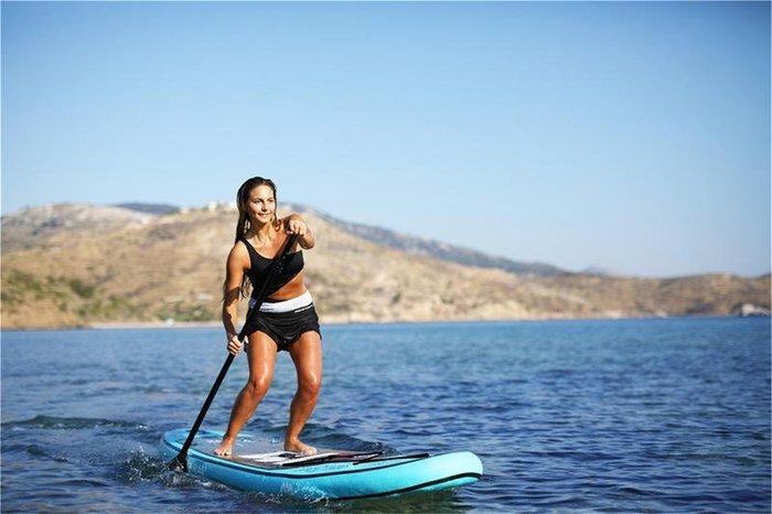 高品質 超輕量 航太鋁 划槳板沖浪板充氣船槳可伸縮鋁合金SUP 劃水槳 快拆式可調節165-215cm 划艇三節式可拆卸