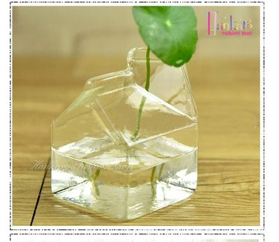 ☆[Hankaro]☆ 簡約透明牛奶盒...