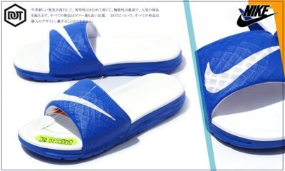 DOT 聚點 NIKE BENASSI SOLARSOFT SLIDE 2 白藍 運動拖鞋 705475-410 藍白拖