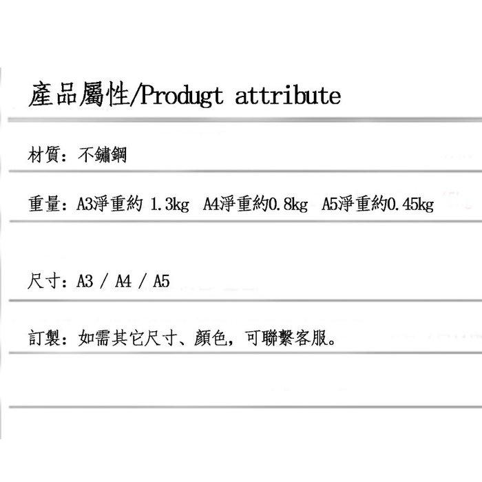 5Cgo【含稅】廣告牌黑色烤漆桌牌A4台式海報架A3POP架A5展示架拉絲鈦金促銷台牌16209271198