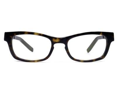 超美品** Ic! Berlin **plastic! Nameless 5 玳瑁色 膠框光學眼鏡