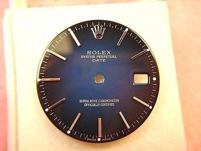 Rolex 勞力士 15xx 漸層藍面盤~1500-1501 等均適用..