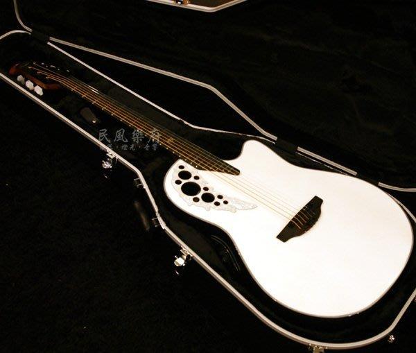 《民風樂府 》 韓廠 Ovation 2078 ME-6P Melissa簽名琴 葡萄孔圓背電木吉他