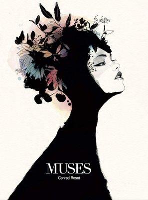 【布魯樂】《7月預購_9折》[美版書籍]《Conrad Roset》作品畫集:Muses (9788467939804)