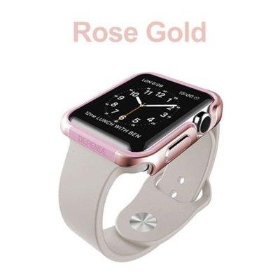 店長推薦X Doria Defense Edge Apple Watch 42mm Case金屬邊框 手錶殼 保護殼