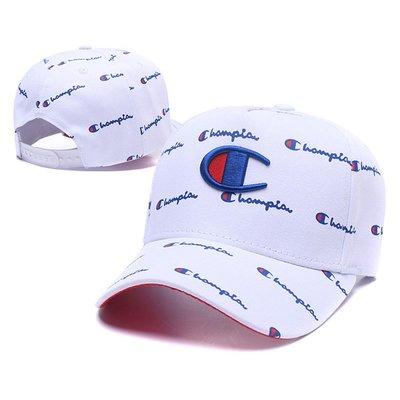 原宿潮牌CHAMPION冠軍帽 棒球帽子 嘻哈帽 時尚休閒帽 鴨舌帽 遮陽帽
