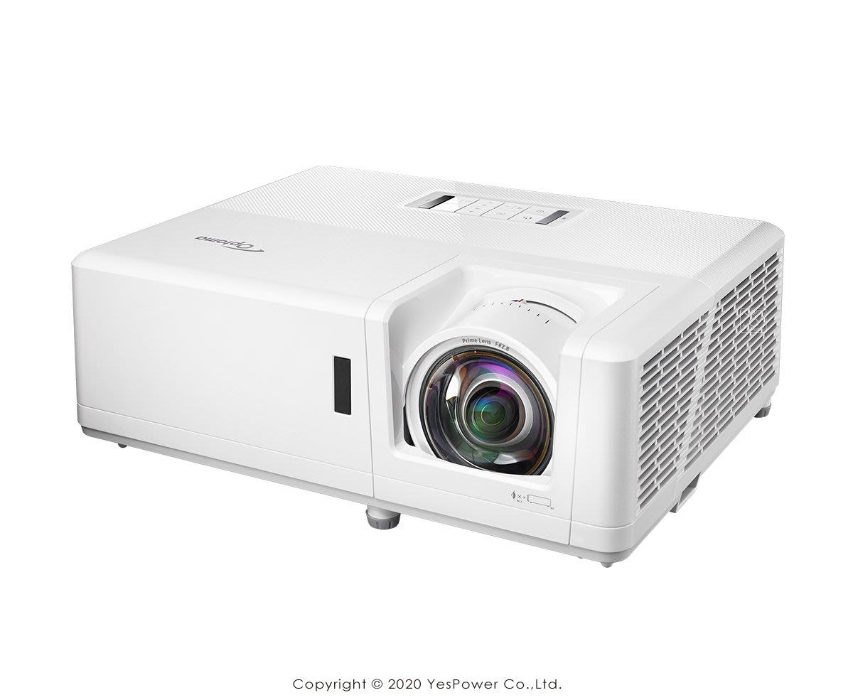 ZH406ST Optoma 4000流明 DLP輕巧型高亮度工程及商用投影機 DLP 1920x1080解析