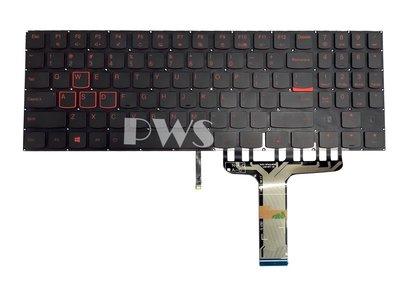 ☆【全新 聯想 Lenovo Legion Y520 Y720 R720-15IKB 英文 紅字 背光鍵盤 】☆