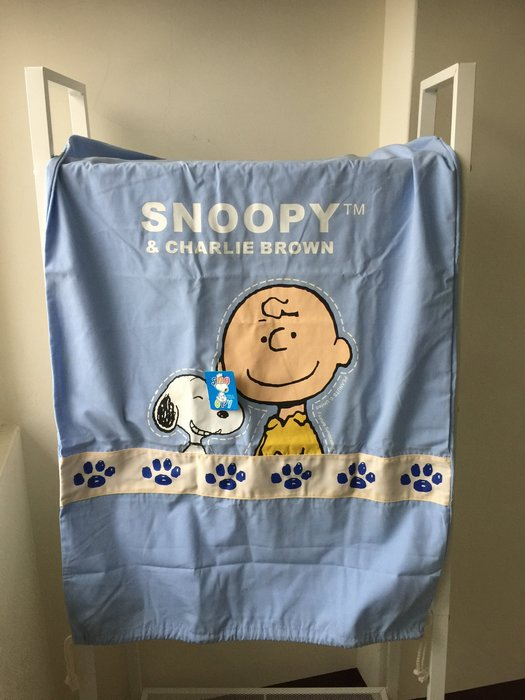 SNOOPY史努比 查理布朗 衣物收納袋 電風扇收防塵套 除濕機防塵袋(100*60cm)