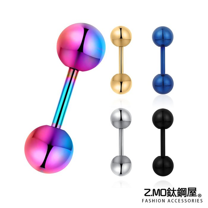 經典圓形耳環 簡約造型 中性耳環 單個價【ECS094】Z.MO鈦鋼屋