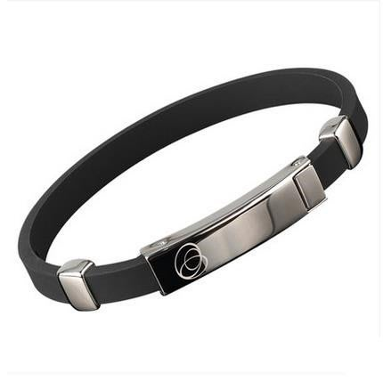 男女運動手環能量平衡矽膠手環 防靜電抗疲勞籃球手腕帶