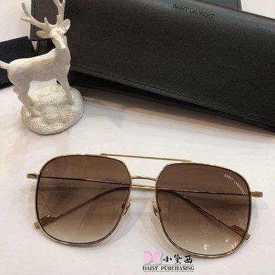 【小黛西歐美代購】YSL yves saint laurent 時尚飛行 夏日太陽眼鏡 顏色5 歐洲限量代購