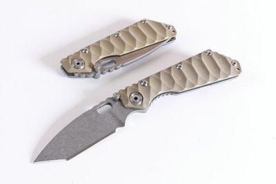 刀品世家 經典鋼鎖版T頭折刀