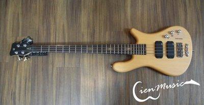 『立恩樂器』Warwick Rock Bass Streamer standard 原木 消光 4弦 電貝斯 BASS