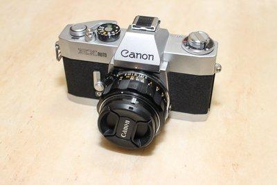 Canon EX AUTO + 50mm F1.8