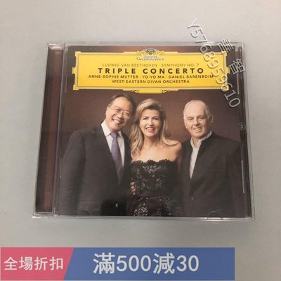 Mutter Yo yo Ma 穆特 馬友友 巴倫博伊姆 貝多芬3重奏 cd經典 流行 CD【善智】