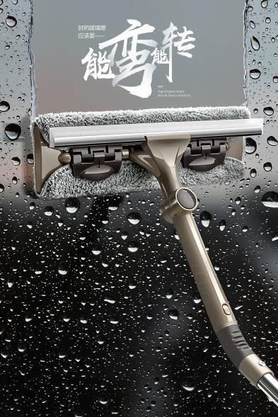 擦窗器 擦玻璃神器家用雙面高樓清洗器搽窗戶伸縮桿刮水器清潔工具