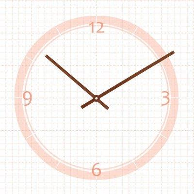 【鐘點站】J140108櫻花木指針 / 適用SKP壓針機芯 / 分針14公分 時針10.8公分 ├原木木皮鐘針/木頭指針