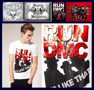 Amplified 英國【現貨】M號 T恤 Run DMC Its Like That