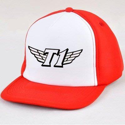 款 skt1 sk telecom 戰隊faker SKT T1 LOL 英雄聯盟 棒球 帽子 帽 遮陽帽 太陽帽