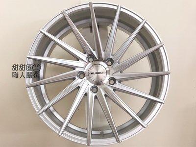 【甜甜圈】T415 18吋5H120 銀色車面鋁圈 BMW E91/ F10/ F30/ F36適用 可供前後配 高雄市