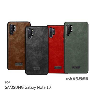 【愛瘋潮】SULADA SAMSUNG Galaxy Note 10 皮紋保護套 手機殼 保護殼