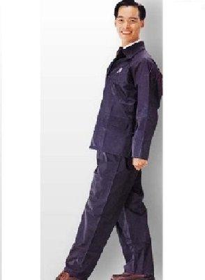 【shanda 上大莊 】警用/保全員 夜光龍安全 雨衣 (/黃/藍色) 兩件式 (透氣三角網、反光條)