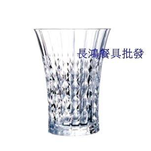 *~ 長鴻餐具~*(法國進口) LADY DIAMOND Highball glass 36 cl強化無鉛水晶杯002G5210精細雕刻