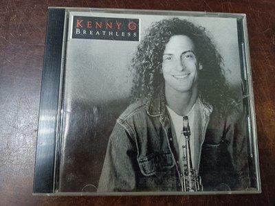 長春舊貨行 KENNY Breathless CD 肯尼·基 BMG 1992年 (Z46)