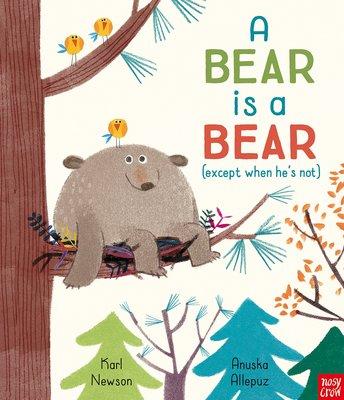 *小貝比的家*A BEAR IS A BEAR (except when he's not )平裝+QR code/幽默